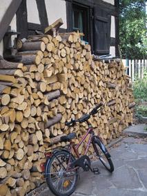 Stückholzheizung